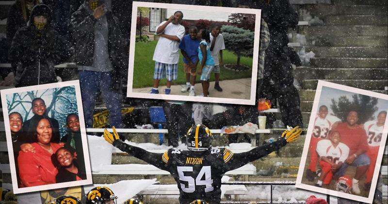 For Iowa's Daviyon Nixon, football means more than an NFL career. It's family.
