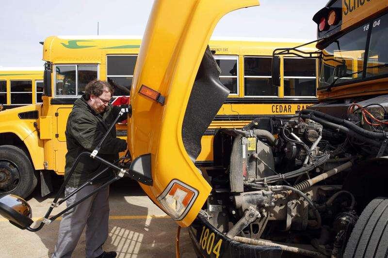 Iowa schools struggle to hire and keep bus drivers