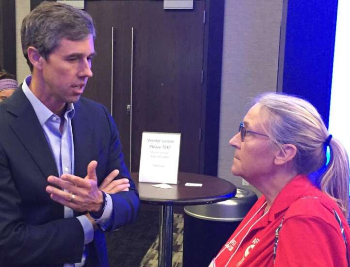 Aiming for top 3 Iowa finish, Beto O'Rourke to focus on curbing gun violence