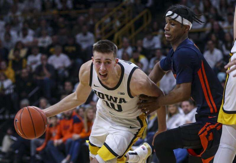 Respectful animosity? Iowa men's basketball goes nose-to-nose with Illinois again