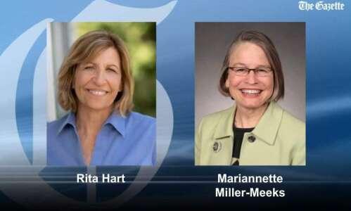 Miller-Meeks' lead shrinks to 6 votes over Hart after full…