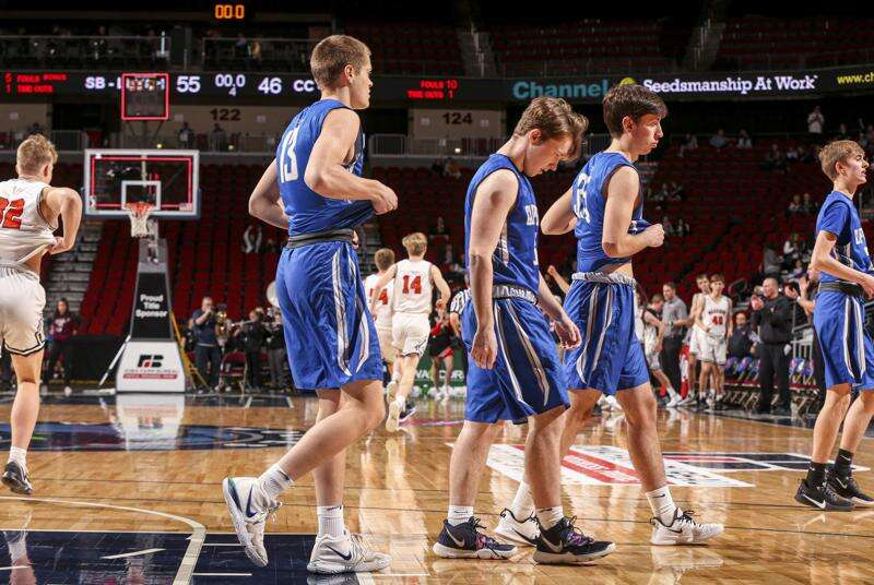 Sergeant Bluff-Luton sizes up and sizes out Clear Creek Amana in boys' state basketball semifinals