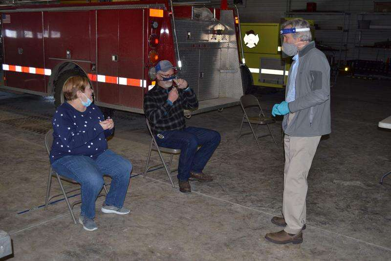 Libertyville hosts free COVID testing clinic