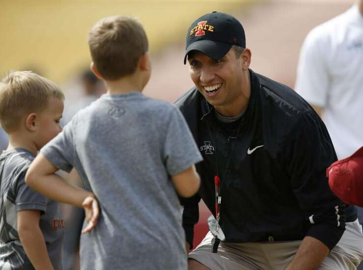 Outreach to former players another block in Matt Campbell's Iowa State football building project