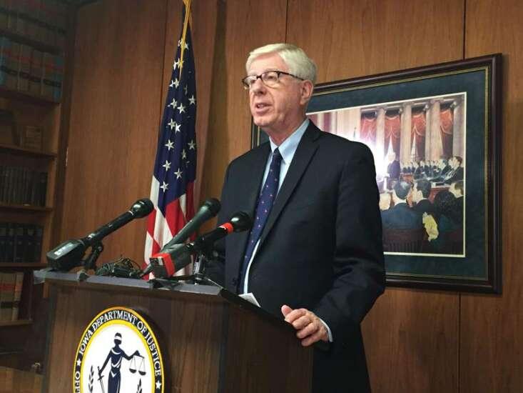 Iowa attorney general still supports e-cigarettes despite vaping illnesses, anti-tobacco legacy