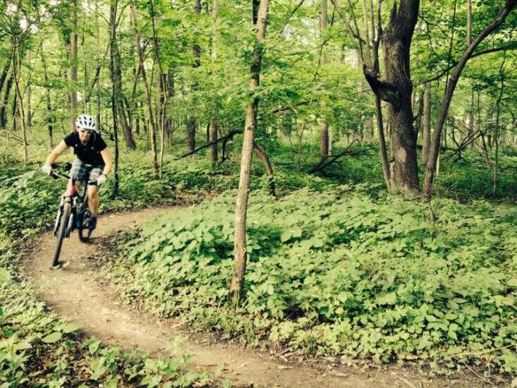 What is mountain biking?