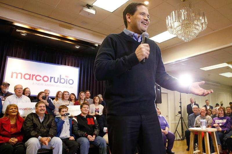 In Cedar Rapids, Rubio says he's the biggest threat to Democrats