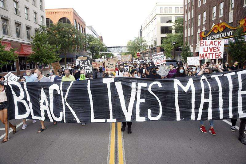 Black Lives Matter advocates 'in tears' after guilty verdicts in George Floyd death