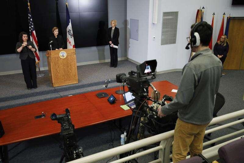 Gov. Kim Reynolds says she won't set time lines