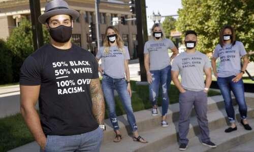 Cedar Rapids man turns his Black Lives Matter sign into…