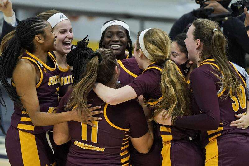 After a rout of its scout team, Central Michigan gets a far tougher test in Iowa on Sunday