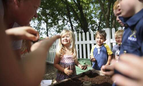 None of North Liberty's child care providers offer evening or…