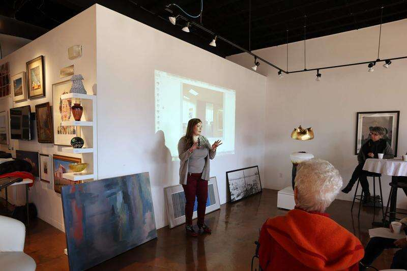 Gilded Pear Gallery keeps its artists roster full