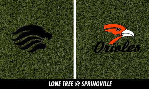 Lone Tree beats Springville in physical matchup of 3-0 teams