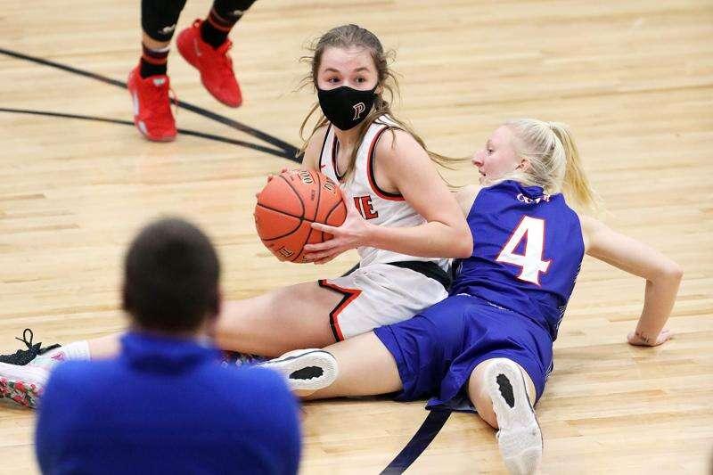 Photos: C.R. Washington vs. C.R. Prairie, Iowa high school girls' basketball