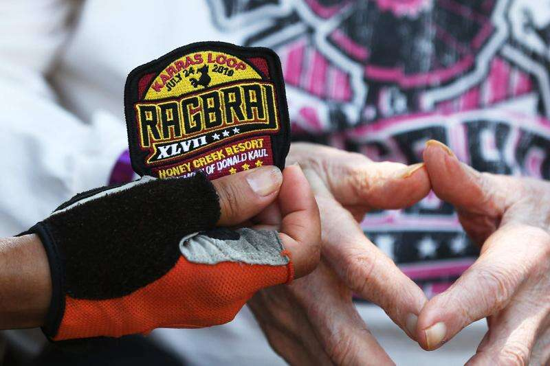 RAGBRAI riders climb past halfway point, with some adding extra miles just for fun