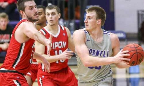 Photos: Cornell College men's basketball vs. Ripon