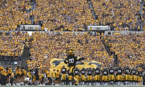 Iowa football 2021 schedule revised: Big Ten West opponents moved…