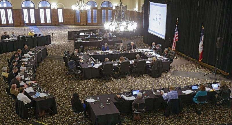 Former Iowa regent spokesperson sues board for age, gender discrimination