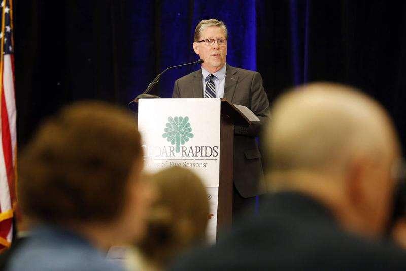 Why Cedar Rapids Mayor Brad Hart has recused himself 37 times since February