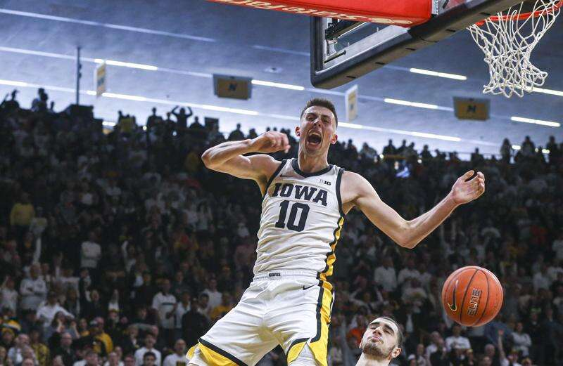 Iowa's Joe Wieskamp picked by Spurs, Luka Garza by Pistons in NBA Draft