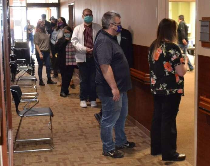 Fairfield hosts massive vaccine clinic
