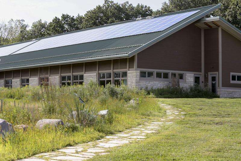 Indian Creek Nature Center becomes one of 31 buildings in world to achieve exclusive water, energy efficiency mark