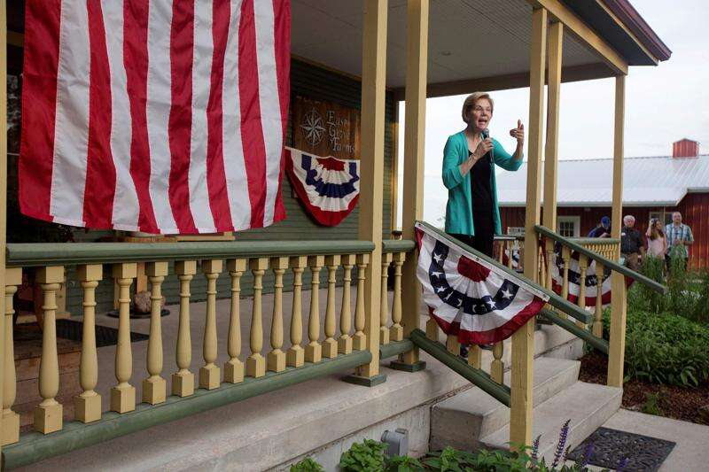 Warren outshines Biden in race to build Iowa 2020 ground game