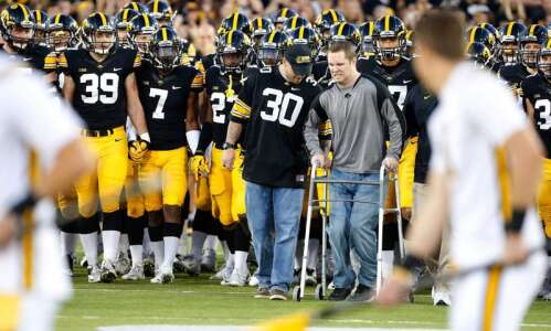 The Swarm at Kinnick no Iowa fan will ever forget