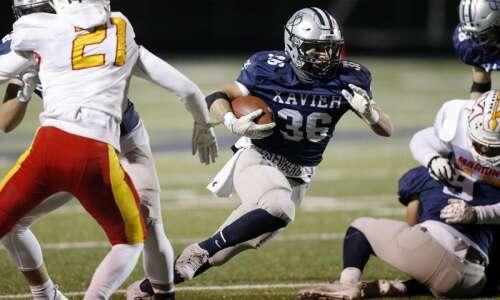 Cedar Rapids Xavier shakes off rust, rolls past Marion in…