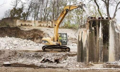 Beware road closure as old railroad bridge comes down in…
