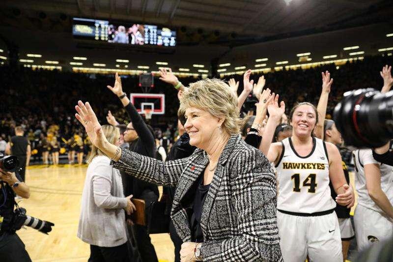 University of Iowa boosts bonus pay for coach Lisa Bluder