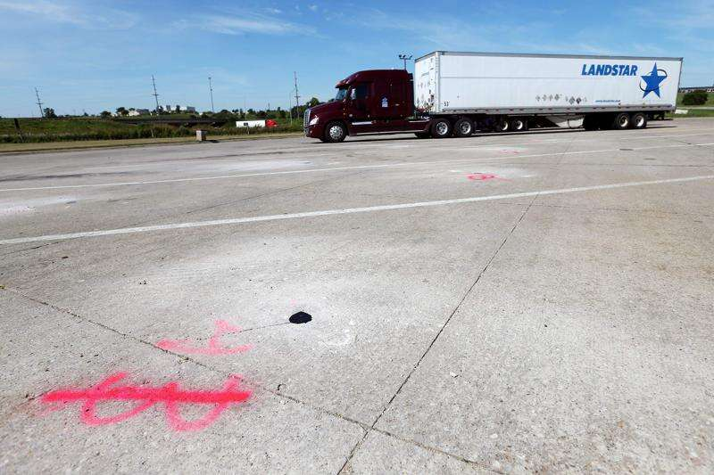 Creating a better route to truck parking in Iowa