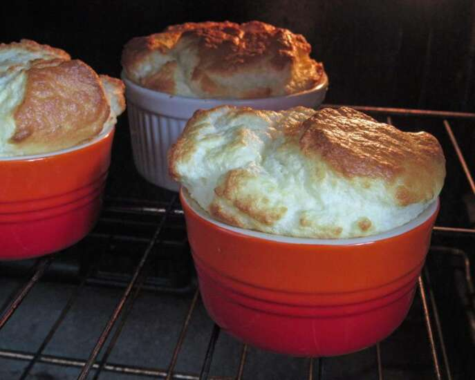 Souffles are delicious whether they fall in the oven or out