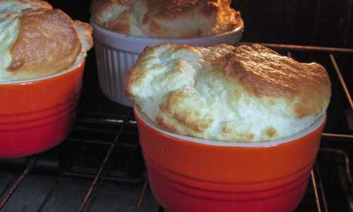 Souffles are delicious whether they fall in the oven or…