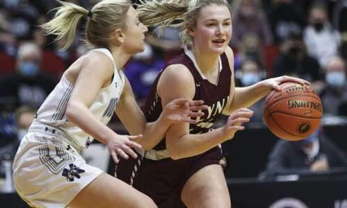Turnovers, missed shots cost North Linn in girls' state basketball…