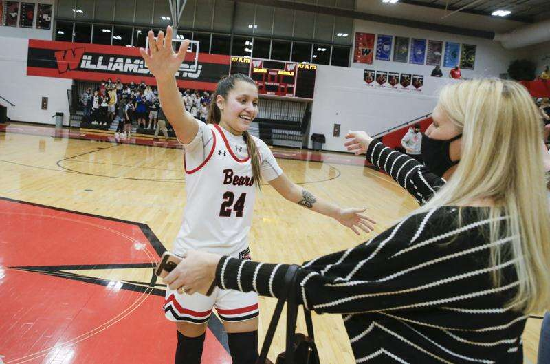 Drama and friction behind, Taya Young and West Branch set for girls' state basketball semifinals
