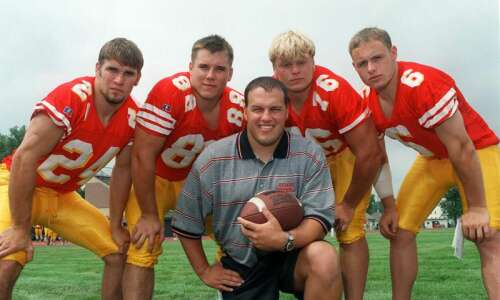 Iowa's Seth Wallace talks about his big break in coaching…
