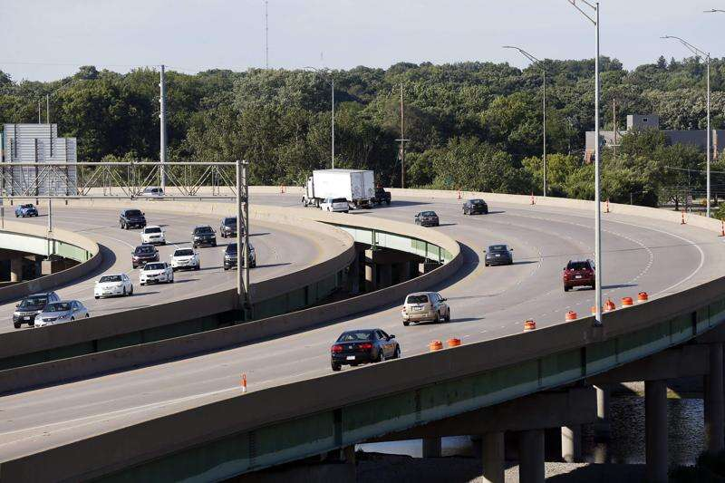 Drivers beware: Road work on I-380's S-curve continues through November