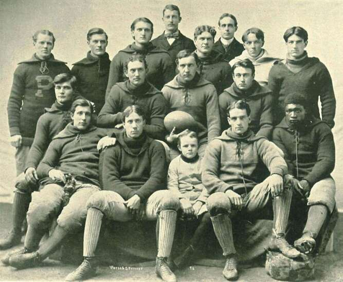 Finding out about Frank 'Kinney' Holbrook, Iowa's first Black college athlete