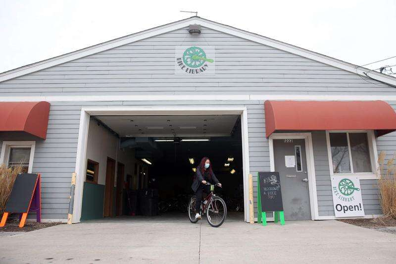 Shifting gears: Iowa City Bike Library moves to new location