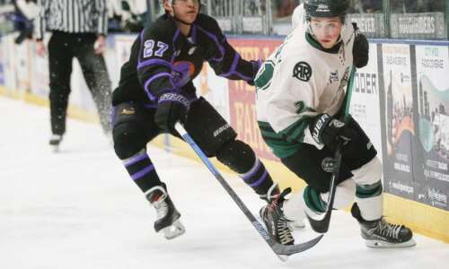 The art of chirping: For the Cedar Rapids RoughRiders, Grant…