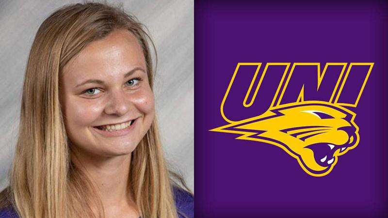 Libby Wedewer making an impact as a freshman for UNI track and field