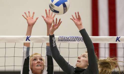 Maggie Peters just one of Kirkwood volleyball's many characters