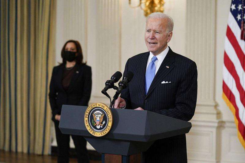 WATCH: President Joe Biden's first White House news conference at 12:15