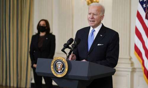 WATCH: President Joe Biden's first White House news conference at…