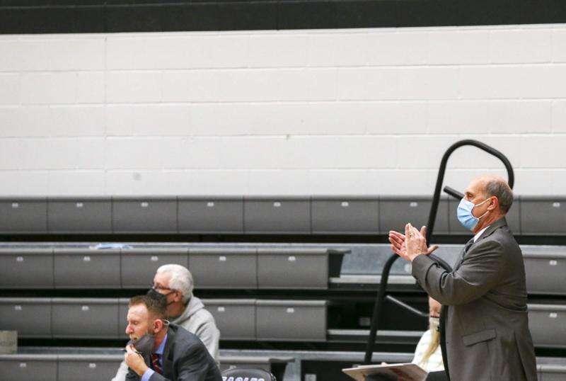 Photos: Kirkwood women's basketball hosts Marshalltown