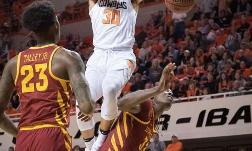 Iowa State loses in overtime again, this time at Oklahoma…