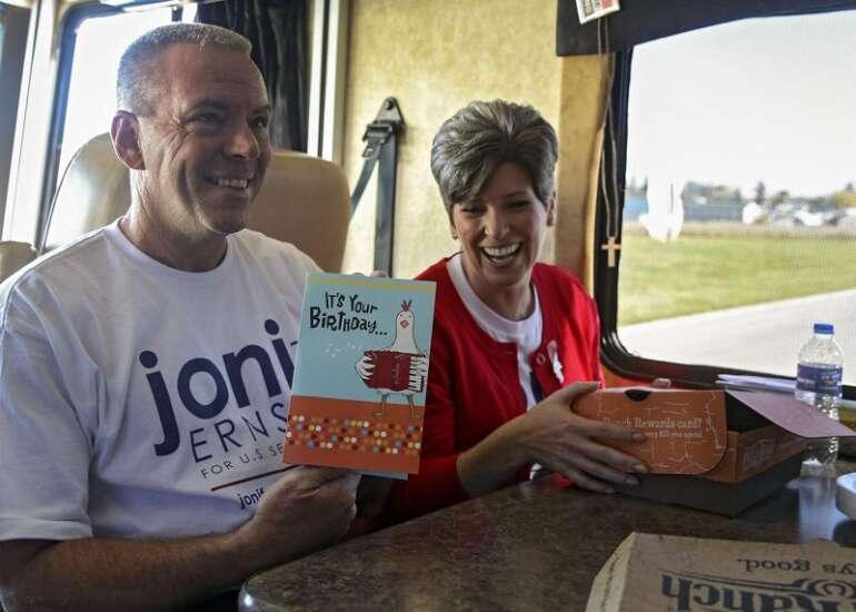 Iowa Sen. Joni Ernst, husband divorcing