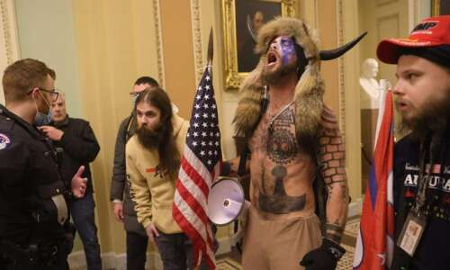 From Baked Alaska to a guy with horns: notable riot…
